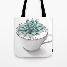 Sexy Succulent Tote Bag