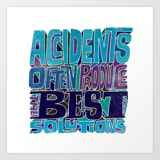 Accidents Art Print