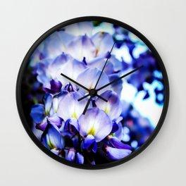 Flowers magic 2 Wall Clock