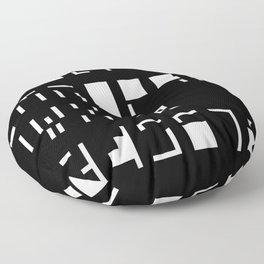 Alphanumerique Floor Pillow
