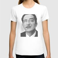 salvador dali T-shirts featuring Salvador Dali by Earl of Grey