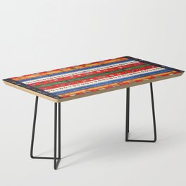 N35 - Bohemain Colored Moroccan Traditional Andalusian Artwork. Coffee Table