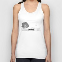 500 days of summer Tank Tops featuring Tom's Favourite Spot —Angels Knoll Park, LA —(500) Days of Summer by Martin Lucas
