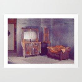 The Waiting Room Art Print