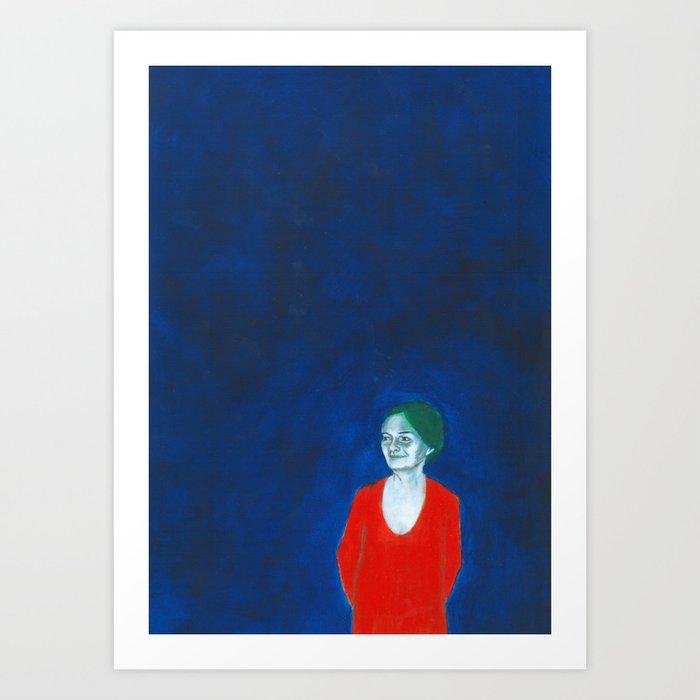 Au travail 19 Art Print