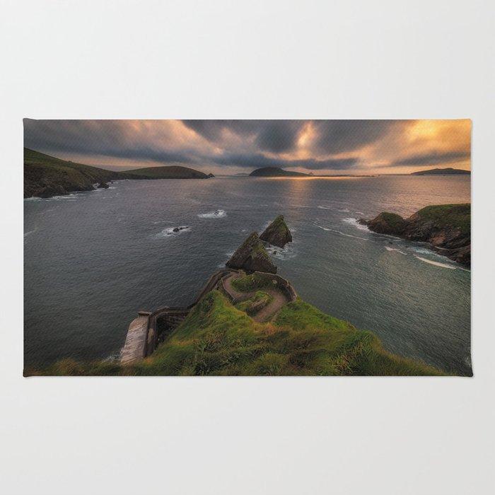 Dun Chaoin Pier, Dunquin - Ireland (RR250) Rug