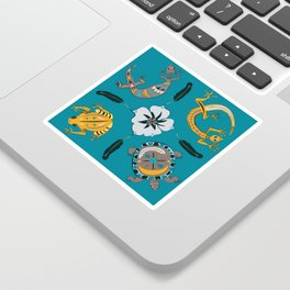 Southwestern Creatures Sticker