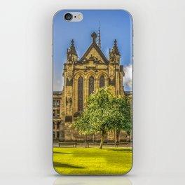 Quadrangle at Glasgow University iPhone Skin