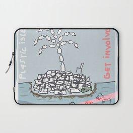 Plastic Isle Laptop Sleeve