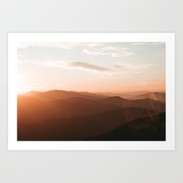 Great Smoky Mountains Art Print