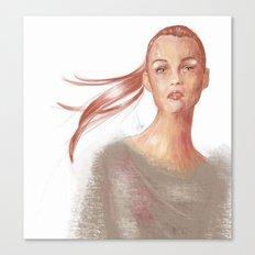 Light Scarlet Canvas Print