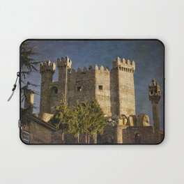 Penedono medieval castle, the Douro district of Portugal Laptop Sleeve