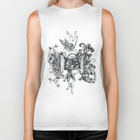 angels Biker Tanks featuring Angels by LinnaDesign