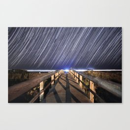 Tybee Trails Canvas Print