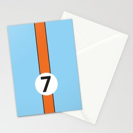 Gulf Racing Ford GT40 Le Mans 24 Hours Stationery Cards