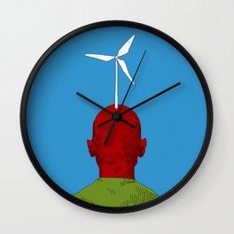 Renewable Energy Wall Clock