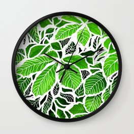 Foglie Wall Clock