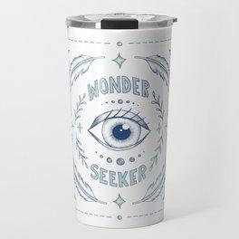 Wonder Seeker - Blue Travel Mug