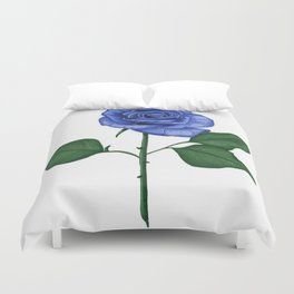Blue Rose, Single Duvet Cover