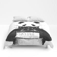 Bad panda Comforters