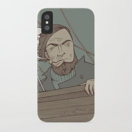 Ahab and the Whale iPhone Case
