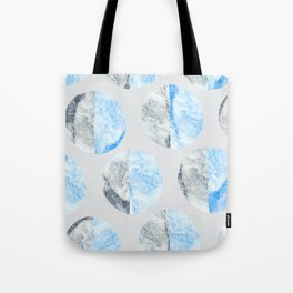 Feather Cloud Dot Pattern Tote Bag