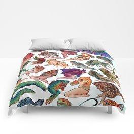 Reverse Mermaids Comforters