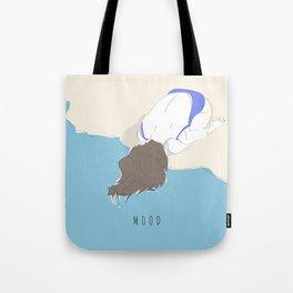 Mood - Girl on the Beach Tote Bag