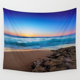 A Day At The Beach Wall Tapestry