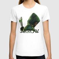 green arrow T-shirts featuring Green Arrow by xDontStopMeNow