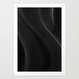 Minimal curves II Art Print