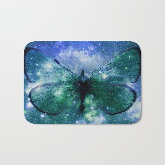 Celestial Butterfly Bath Mat
