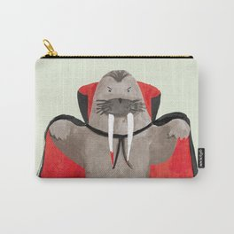 Vampire Walrus Carry-All Pouch