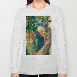 Girl with baloon Long Sleeve T-shirt