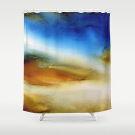 """Free Light IV"" Shower Curtain"
