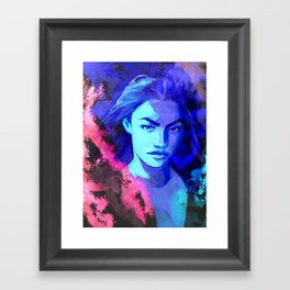 A muse will never lose Framed Art Print