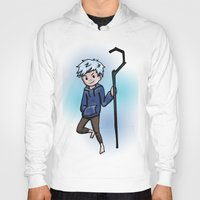 jack frost Hoodies featuring Jack Frost by Fenlaf