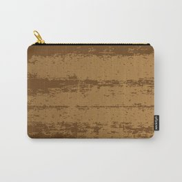Wood Grain Background Carry-All Pouch
