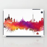 moscow iPad Cases featuring Moscow skyline by jbjart