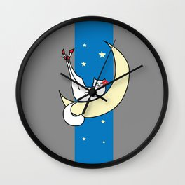 The Cat in the Moonlight is a Slut Wall Clock