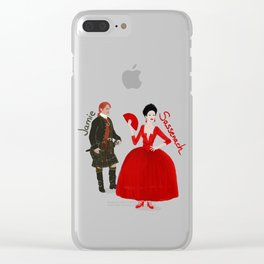 Vive le Frasers! Clear iPhone Case