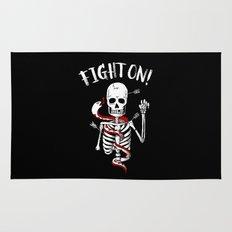 FIGHT ON! Rug
