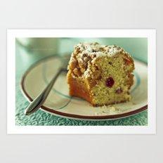 Cake Art Print