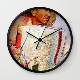 Rods & Cones & Rubber Bands Wall Clock