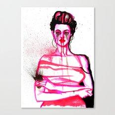 Scarlet Woman Canvas Print