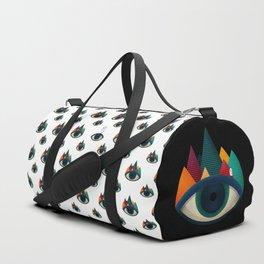 069 - I've seen it owl eyes pattern Duffle Bag