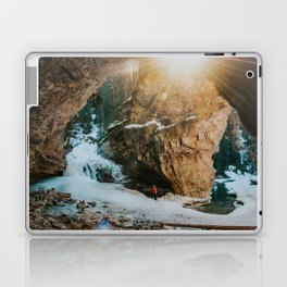 Magical light at Johnston Canyon Laptop & iPad Skin