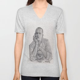Alexander McQueen Savage Beauty Drawing Unisex V-Neck