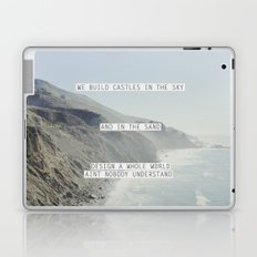 castles in the sky Laptop & iPad Skin