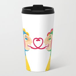 enamored dragons Travel Mug